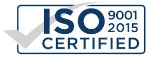 ISO 9001:2015 gecertificeerd!